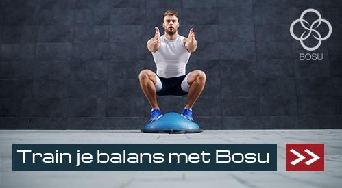 Train je balans met BOSU